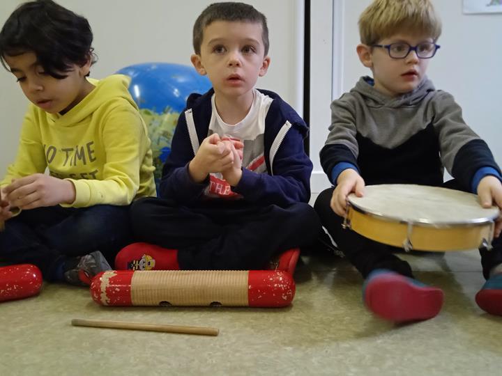 Les Maternelles en musique ....