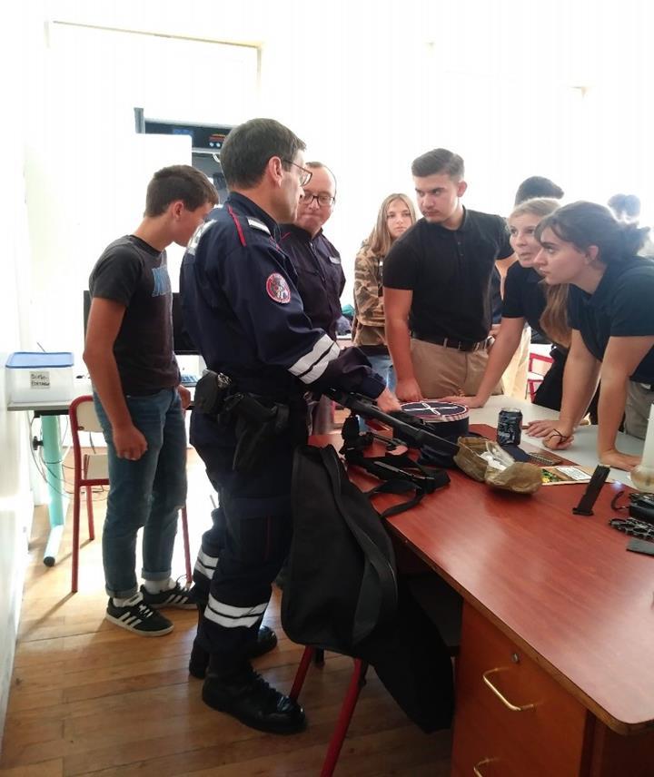 Rencontre avec les douaniers de Saint Julien-en-Genevois