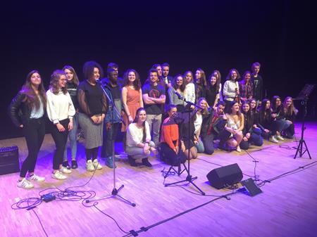 Concert des lycéens