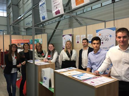 PARTICIPATION DE SUP'ARVE AU SALON CAP'SUP ET SALON DE L'ETUDIANT
