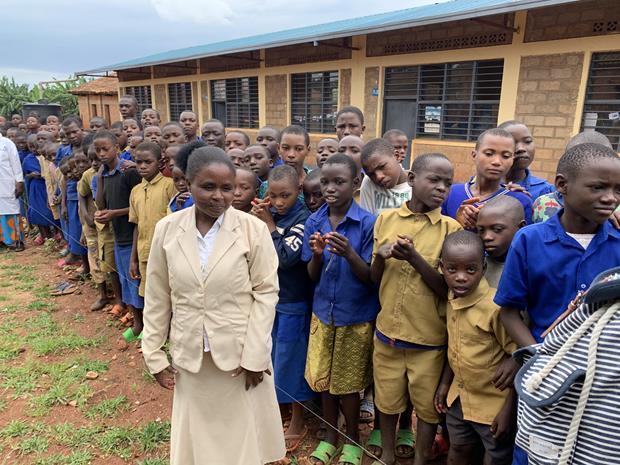L'école de Magi, Rwanda